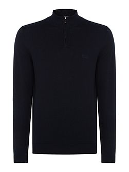 Igor zip funnel neck jumper