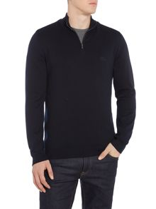 Hugo Boss Igor zip funnel neck jumper