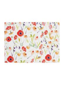 Linea Meadow Floral Cork Placemats Set of 4