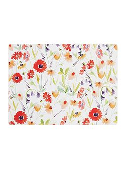 Meadow Floral Cork Placemats Set of 4