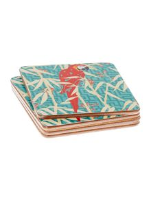 Linea Villa Vista Cork Coasters Set of 4