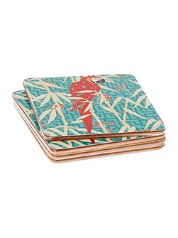 Villa Vista Cork Coasters Set of 4