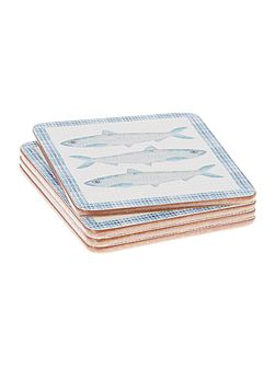 Coast Cork Coasters Set of 4