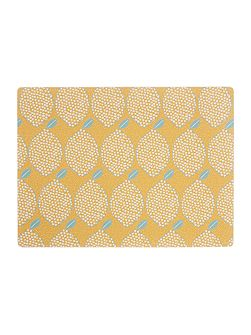 Lemons Placemat Set of 4