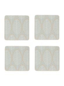 Dickins & Jones Leaf Coasters Set of 4