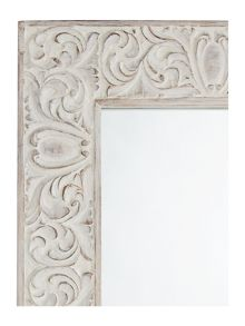 Junipa Nusa Carved wood mirror 60x90cm