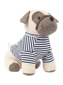 Linea Pete the pug doorstop