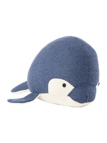 Linea Willow whale doorstop