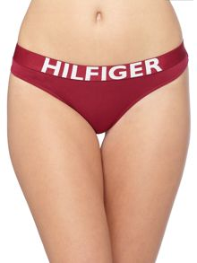 Tommy Hilfiger Cotton Thong Bold