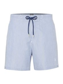 Linea Seersucker Stripe Swim Short