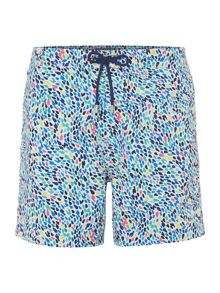 Linea Abstract Geo Print Swim Short