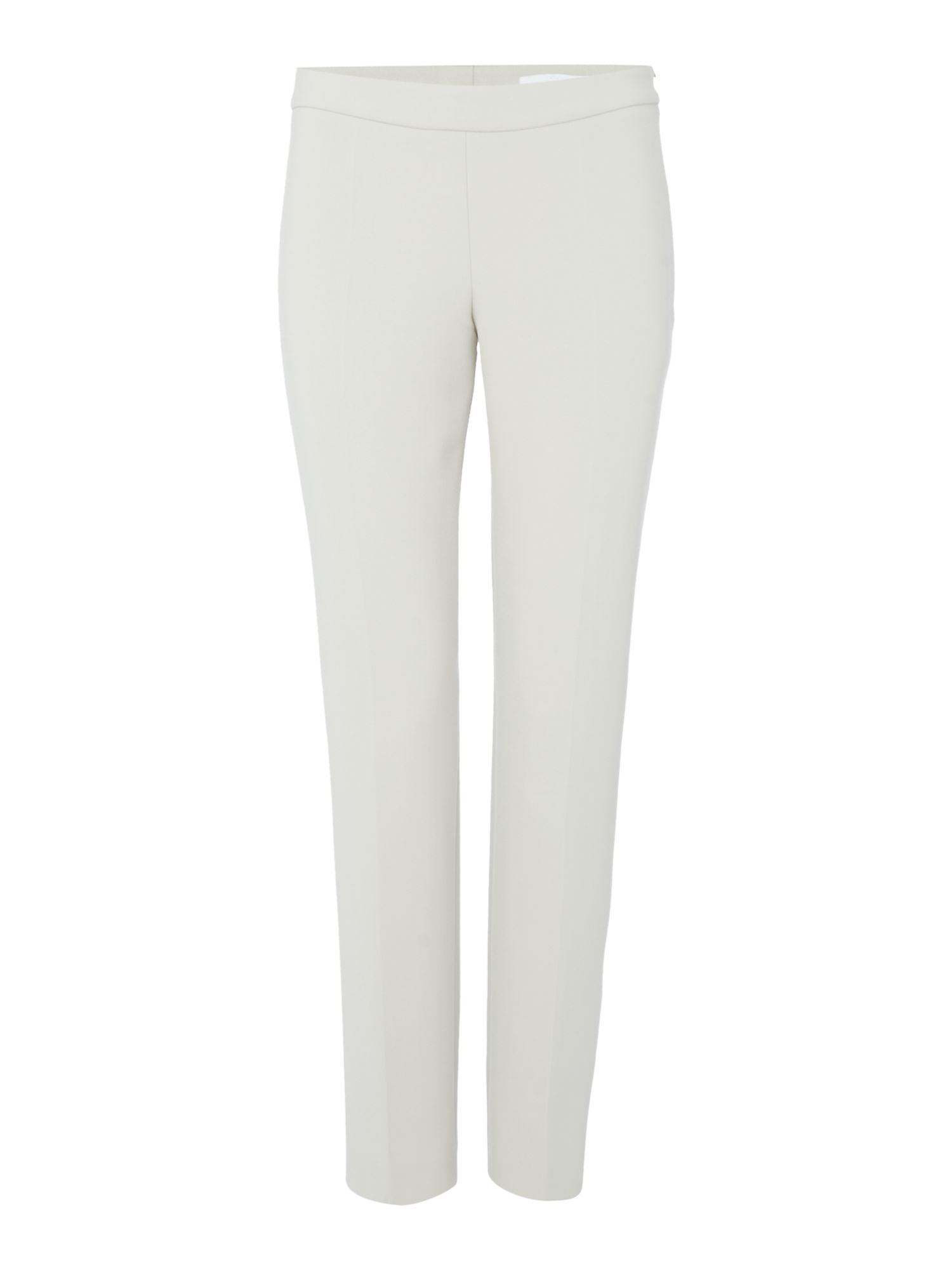 Hugo Boss Slim fit trouser with side zip, Silver
