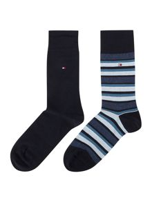 Tommy Hilfiger 2 Pack Variation Socks