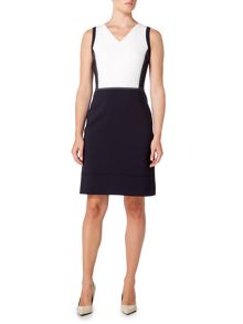Hugo Boss Sleeveless dress with visible stitching detail