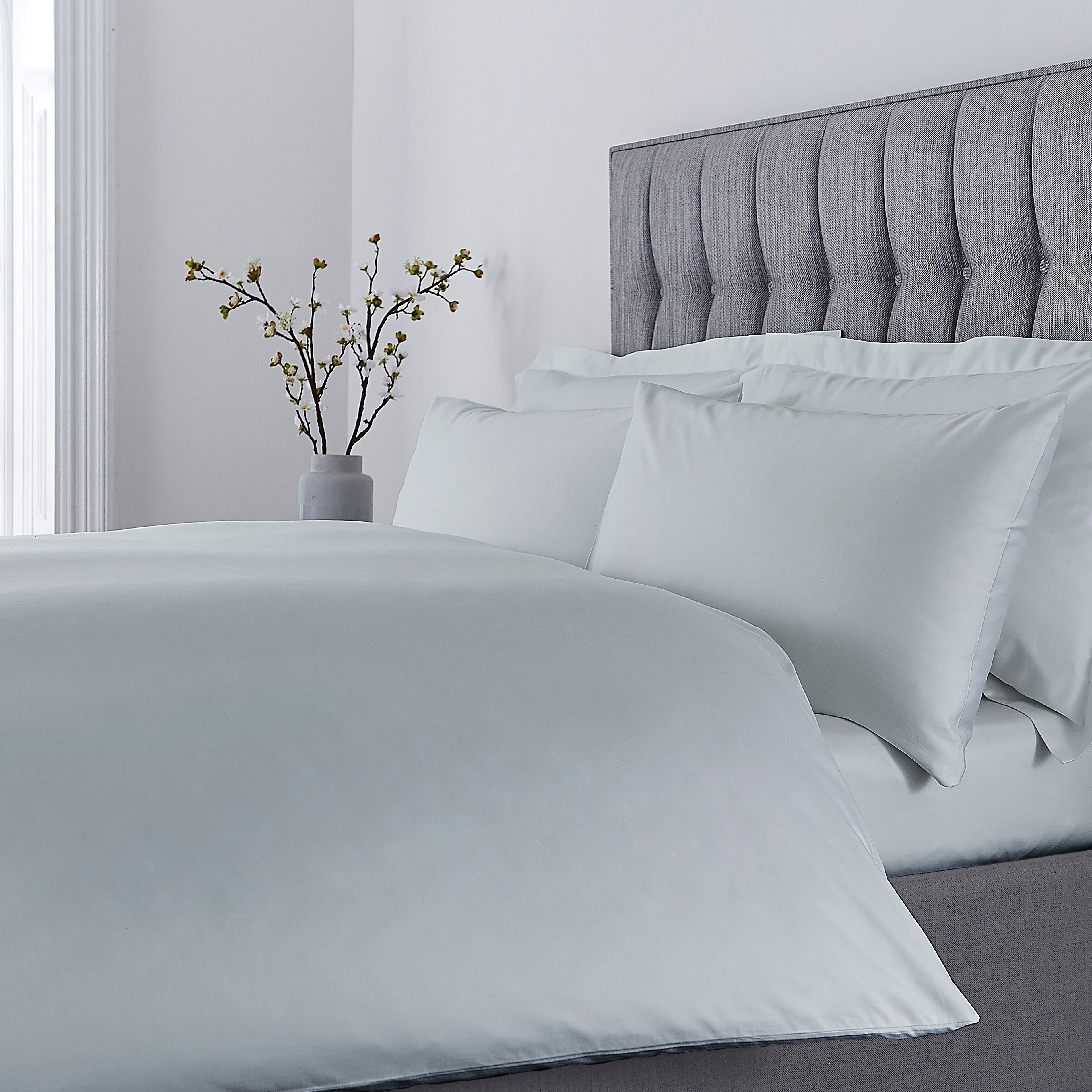 Luxury Hotel Collection 500 TC silk touch duvet cover set