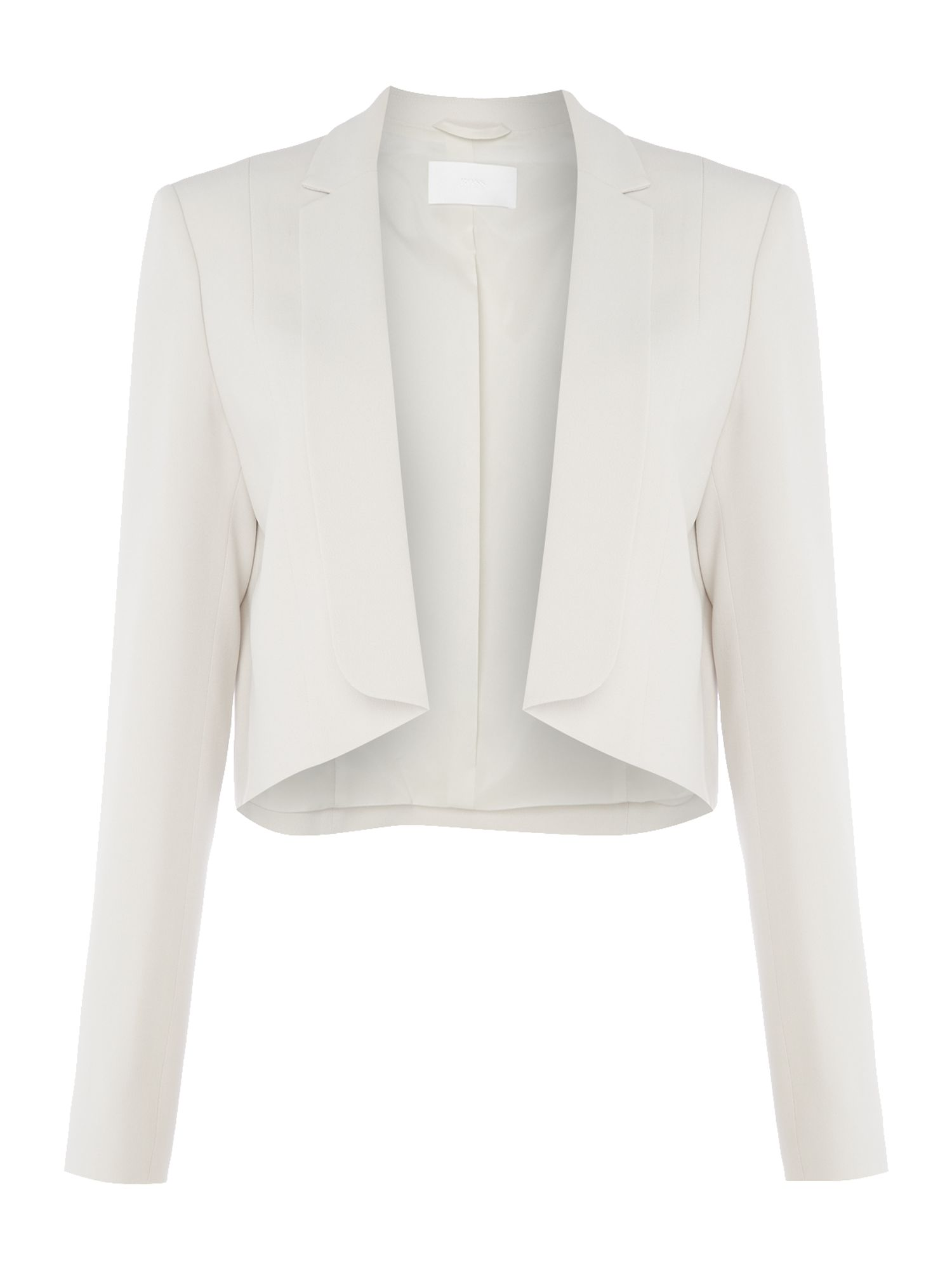 Hugo Boss Longsleeve jacket with open front, Silver