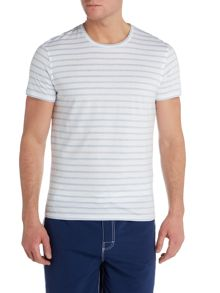 Criminal Tshirt With Nautical Stripe