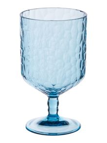 Linea Hammer Acrylic Wine Glass