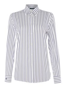 Lauren Ralph Lauren Jamir striped shirt with logo