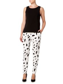 Hugo Boss Slim leg printed trouser