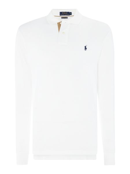 Polo Ralph Lauren Pima Soft Long Sleeve Polo Shirt