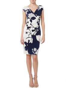 Lauren Ralph Lauren Adarita cap sleeve dress