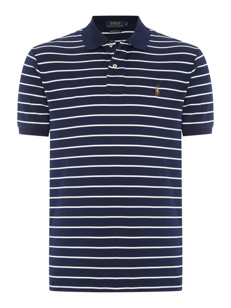 Polo Ralph Lauren Custom Fit Pima Soft Touch Stripe Polo