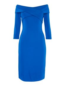 Lauren Ralph Lauren Chris off the shoulder dress