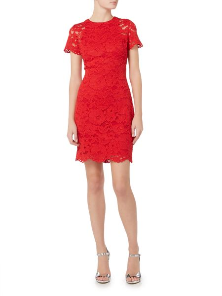 Lauren Ralph Lauren Lace short sleeve dress