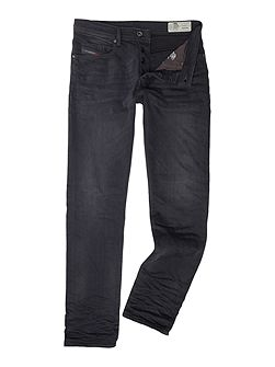 Buster stretch dark grey tapered jeans