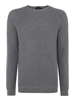 Ilian regular fit knitted crew neck jumper
