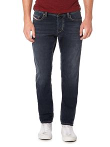 Diesel Larkee-beex stretch distressed tapered jeans