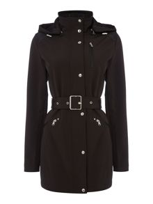 Lauren Ralph Lauren Soft shell belted trench coat
