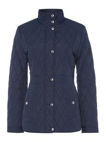 Lauren Ralph Lauren Quilted coat with waist inset
