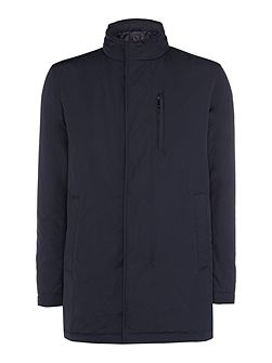 Calion zip-up car coat