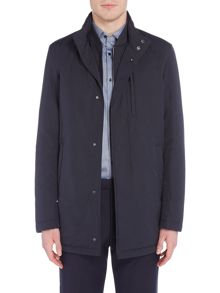 Hugo Boss Calion zip-up car coat