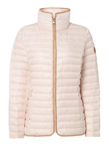 Lauren Ralph Lauren Horizontal quilted soft down jacket