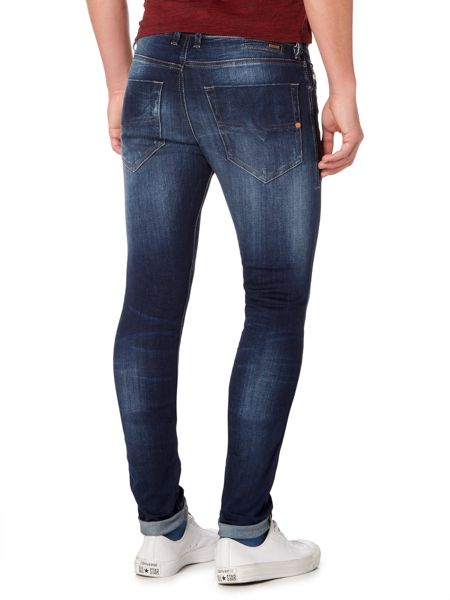 Diesel Tepphar stretch mid wash carrot fit jeans
