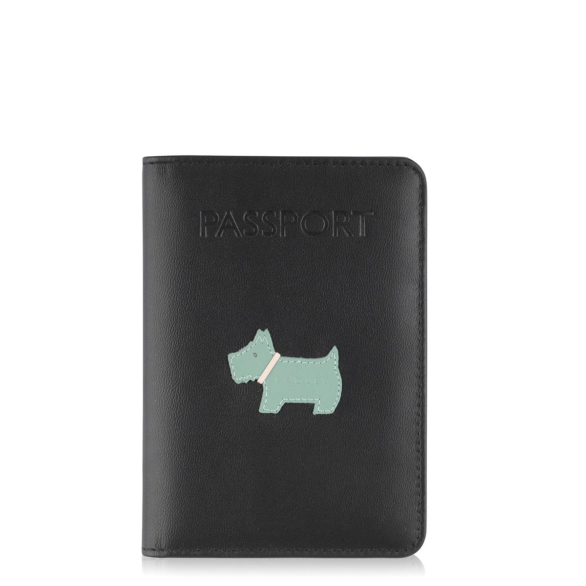 Radley Heritage dog passport cover Black