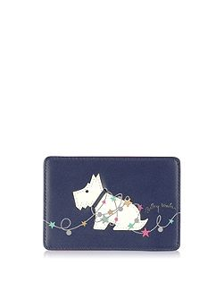 In lights travel card holder
