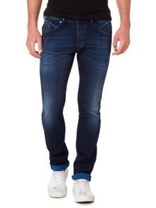 Diesel Belther stretch tapered jeans