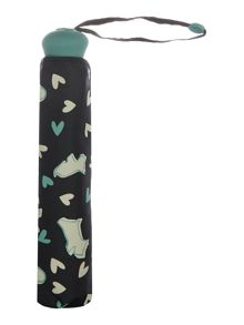 Radley Dog in the window telescopic umbrella