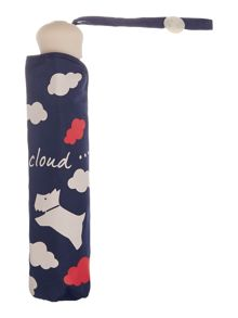 Radley Every cloud mini telescopic umbrella
