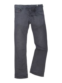 Diesel Zatiny stretch dark grey bootcut jeans