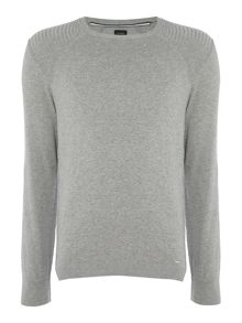 Diesel Crew neck cotton mix jumper