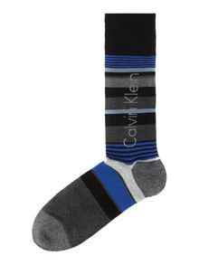 Calvin Klein Big Logo Stripe Socks