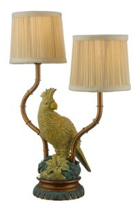 Linea Vista bird lamp