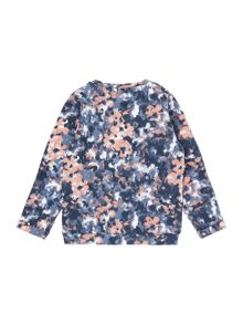 name it Girls Spot Print Sweat Top