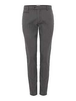 Houndstooth Slim-Fit Trousers