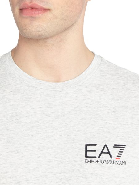 EA7 Core-ID Stretch Short-Sleeve Cotton-Blend T-shirt